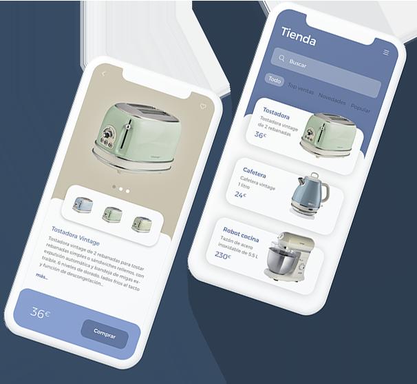 Diseño de interfaz de usuario para app