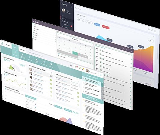 Diseño de interfaz de usuario para backend
