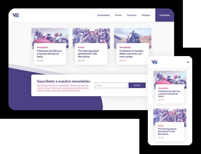Diseño web wordpress blog