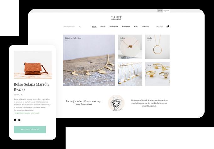 Diseño web wordpress Tienda online
