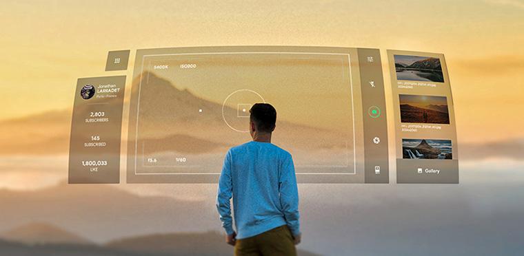 Tendencias en diseño UI para el 2020 - realidad aumentada